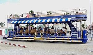 Trams in Oranjestad