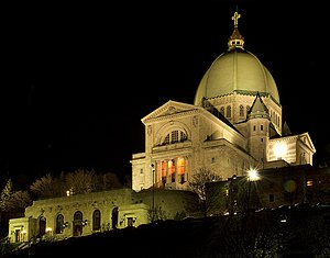 Culture of Montreal - Saint Joseph's Oratory is the largest church in Canada.