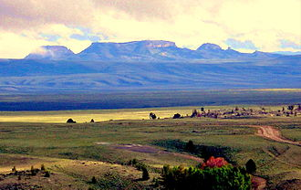 South Pass (Wyoming) - Oregon Buttes - a National Historic Landmark on the Oregon Trail near South Pass City