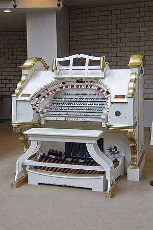 Consolle dell'organo Wurlitzer Opus 2064 press...