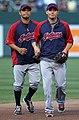 Orlando Cabrera and Asdrúbal Cabrera on July 16, 2011.jpg