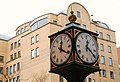 Ornamental clock, Belfast - geograph.org.uk - 663426.jpg