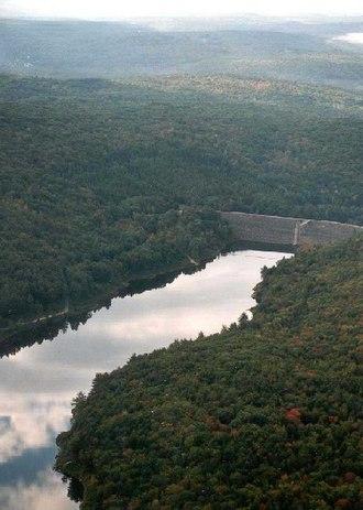 Roxbury, New Hampshire - Otter Brook Lake in Roxbury