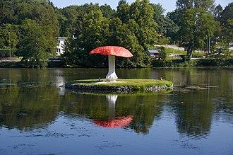 Heverlee - Image: Oud Heverlee paddenstoel D