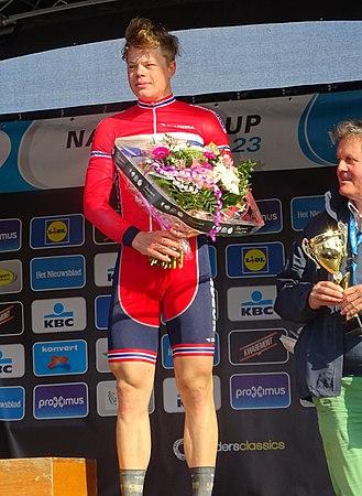 Oudenaarde - Ronde van Vlaanderen Beloften, 11 april 2015 (E02).JPG