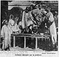 Ouest-Eclair - 1er mai 1929 - Au village nègre, enfants dansant sur le podium.jpg
