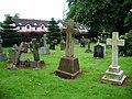 Our Lady and St Wilfred Church, Warwick Bridge, Graveyard - geograph.org.uk - 935452.jpg