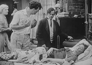 Out of the Darkness (1915 film) - Scene from the film