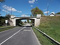 Overpass bridge, Route 81, 2017 Mór.jpg