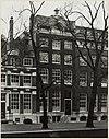overzicht voorgevel grachtenhuis - amsterdam - 20322176 - rce