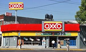 OXXO - Image: Oxxo Obrera DF