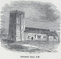 Oystermouth church, S.W