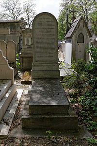 P re lachaise cemetery division 57 wikimedia commons for Chaise baudouin