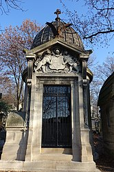 Tomb of Georges Bibesco and Anna de Noailles