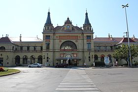 Image illustrative de l'article Gare de Pécs