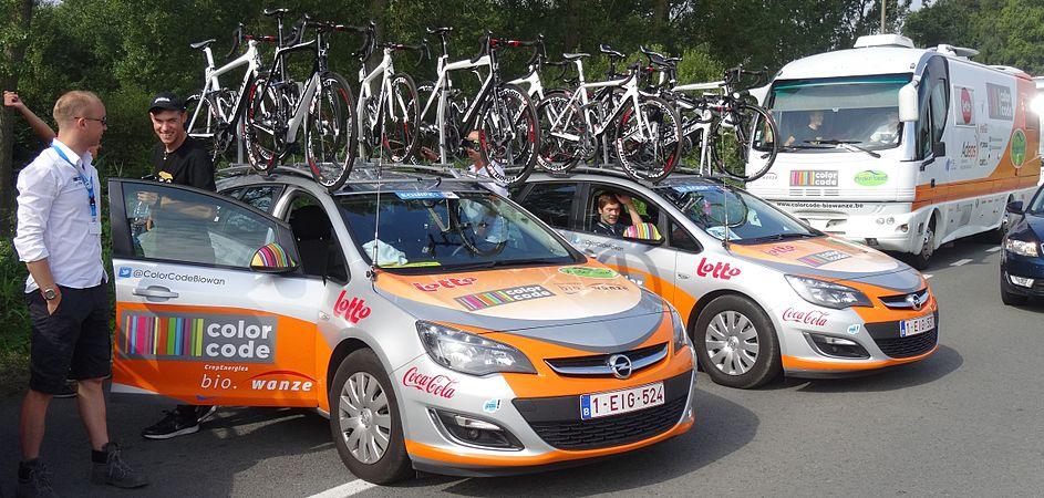 Péronnes-lez-Antoing (Antoing) - Tour de Wallonie, étape 2, 27 juillet 2014, départ (B33).JPG
