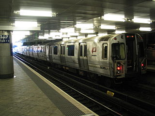 Journal Square–33rd Street rapid transit service in New Jersey and New York City