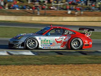 Flying Lizard Motorsports - Image: PLM 2011 044 Flying Lizard Porsche