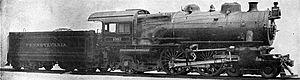 Pennsylvania Railroad class E6 - Image: PRR E6s 1067