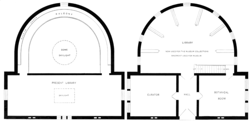PSM V51 D105 Ground plan of the academy building.png