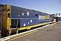 Pacific National (loco NR 106) freight train passing Junee Railway Station.jpg