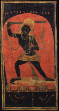Painting of deity Achala.png