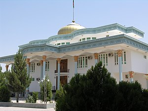Palace of Balkh Governor in 2010