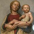 Palaia, sant'andrea, luca della robbia, madonna col bambino 03.JPG