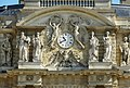 Palais du Luxembourg clock and statues.jpg