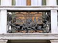 Palazzo Ravenna, dettaglio balcone facciata (Rovigo).JPG