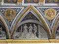 Palazzo costabili, sala del tesoro, affreschi del garofalo, 20 tre grazie.JPG