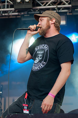 Paleface (Finnish musician) - Paleface performing at the 2012 Ilosaarirock festival.