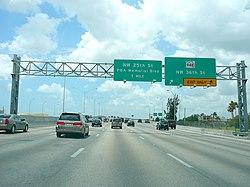 Florida State Road 826 - Wikipedia