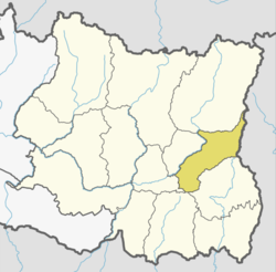 Location of Panchthar