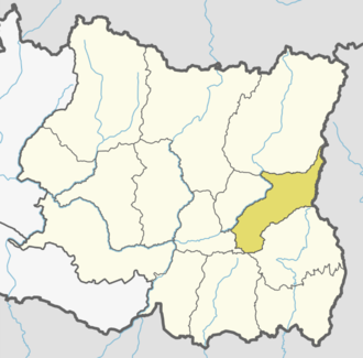 Panchthar District - Location of Panchthar