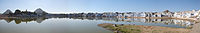 Panorama of Pushkar Lake in Rajasthan.jpg
