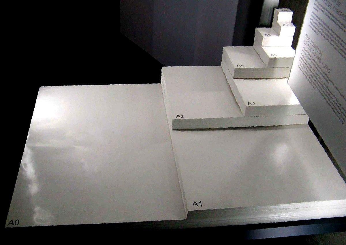 Blattgröße A1