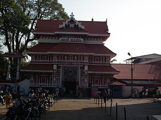Paramekkavu Bagavathi Temple temple in India