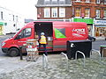 Parcel Force vehicle in Chipping Barnet (3).JPG
