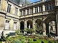 Paris, France. Hotel Carnavalet. (PA00086125)(The garden, detail 3).jpg