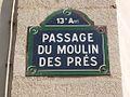 Paris 13e - passage du Moulin-des-Prés - plaque.jpg