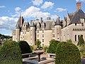 Parka fasado de la Château de Langeais 02.jpg