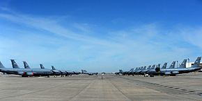 Parked KC-135 Stratotankers 140310-F-HE996-002.jpg