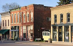 Much of downtown Lanesboro is listed on the National Register of Historic Places