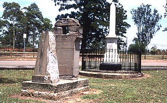 Thomas Brisbane - Remains of observatory in Parramatta Park, Parramatta, N.S.W.