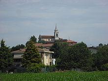 Chiesa della frazione Novate