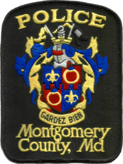 Montgomery County Police Department nationally accredited, primary law enforcement agency of Montgomery County, Maryland, United States