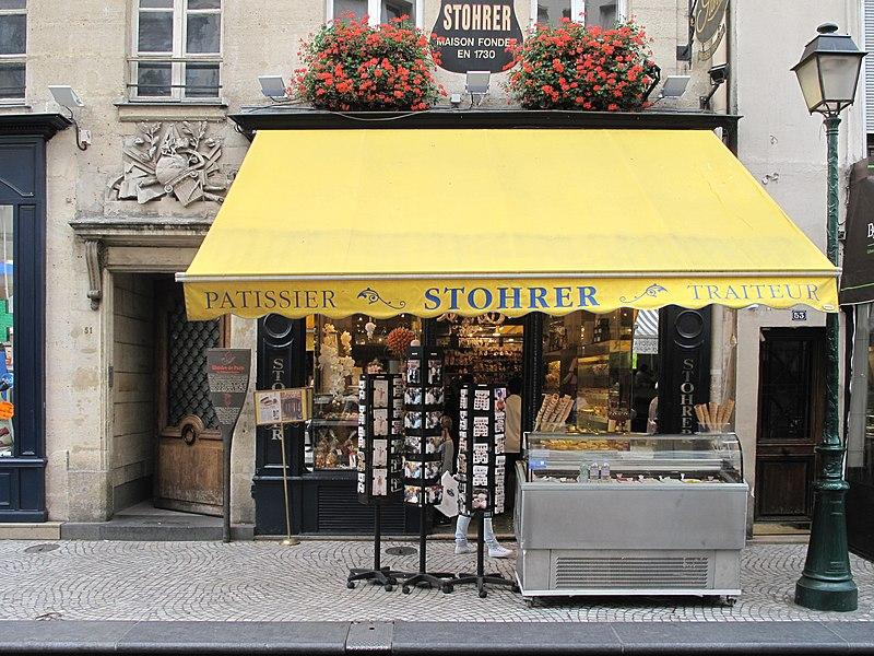 Fichier:Patisserie Stohrer (Paris).jpg