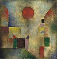 Paul Klee, 1922, Red Balloon, oil on chalk-primed gauze, mounted on board, 31.7 x 31.1 cm, Solomon R. Guggenheim Museum.jpg