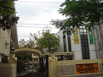 St. Paul University Manila - Image: Pauljf
